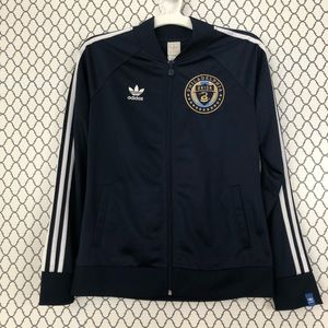 ebbe11cff25f adidas Jackets   Coats - Adidas Philadelphia Union Zip-up Track Jacket ...